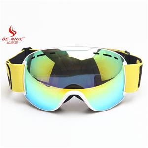 Fast replaceable face pasting sponge bright REVO lens snow sports goggles SNOW-4848