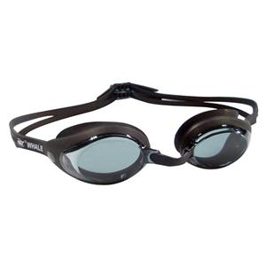 Wide angle curve lens competition use anti-fog racing swimming goggles CF-2700