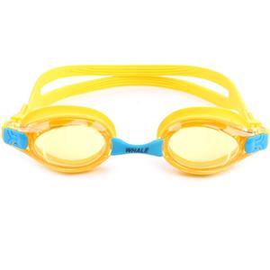 Adjustable latex head strap OEM package youth swimming goggles CF-6600