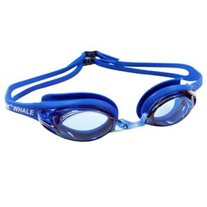 PU nose piece comfort folding silicone strap high transmittance swim goggles CF-900