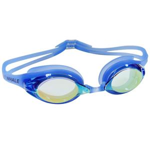PU nose piece comfort folding silicone strap high transmittance swim goggles CF-900