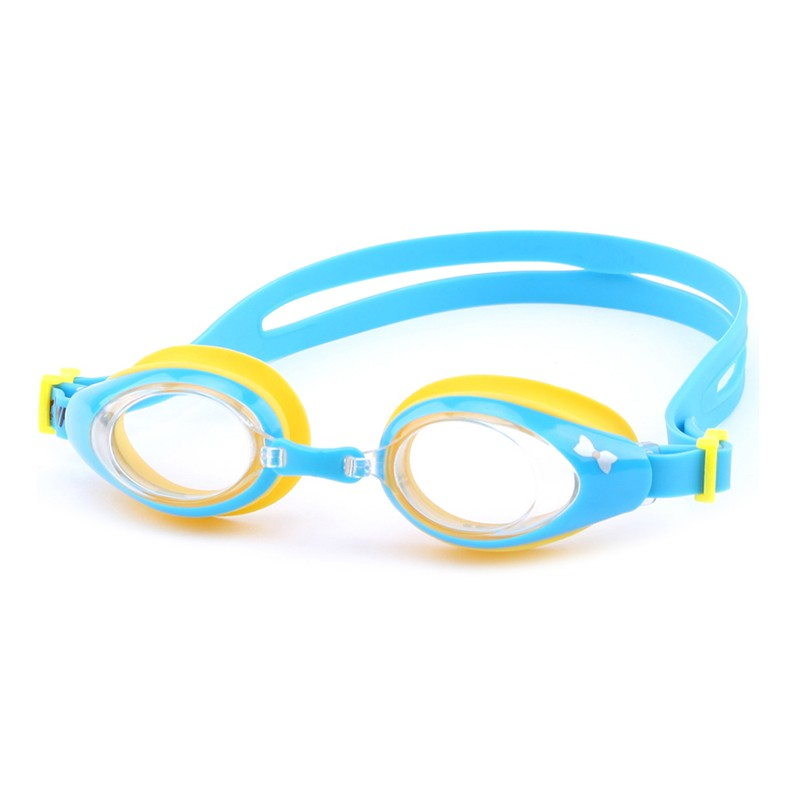 Colorful safety wide peripheral lenses children swimming goggles CF-6000
