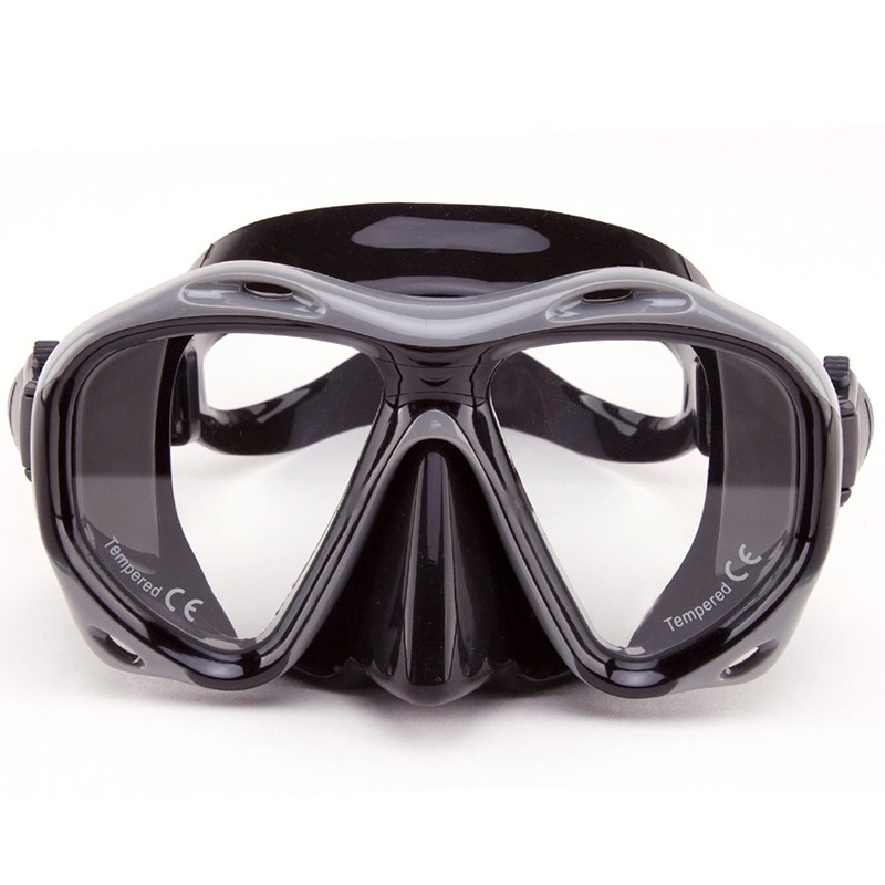 WHALE Deep diving sports snorkel goggles Full Face Diving Mask MK-2600