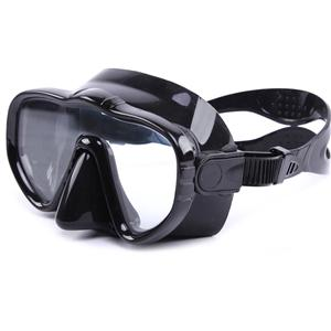 Adult Frameless Integrated 100% Clear Underwater Vision Diving Masks MK-1300