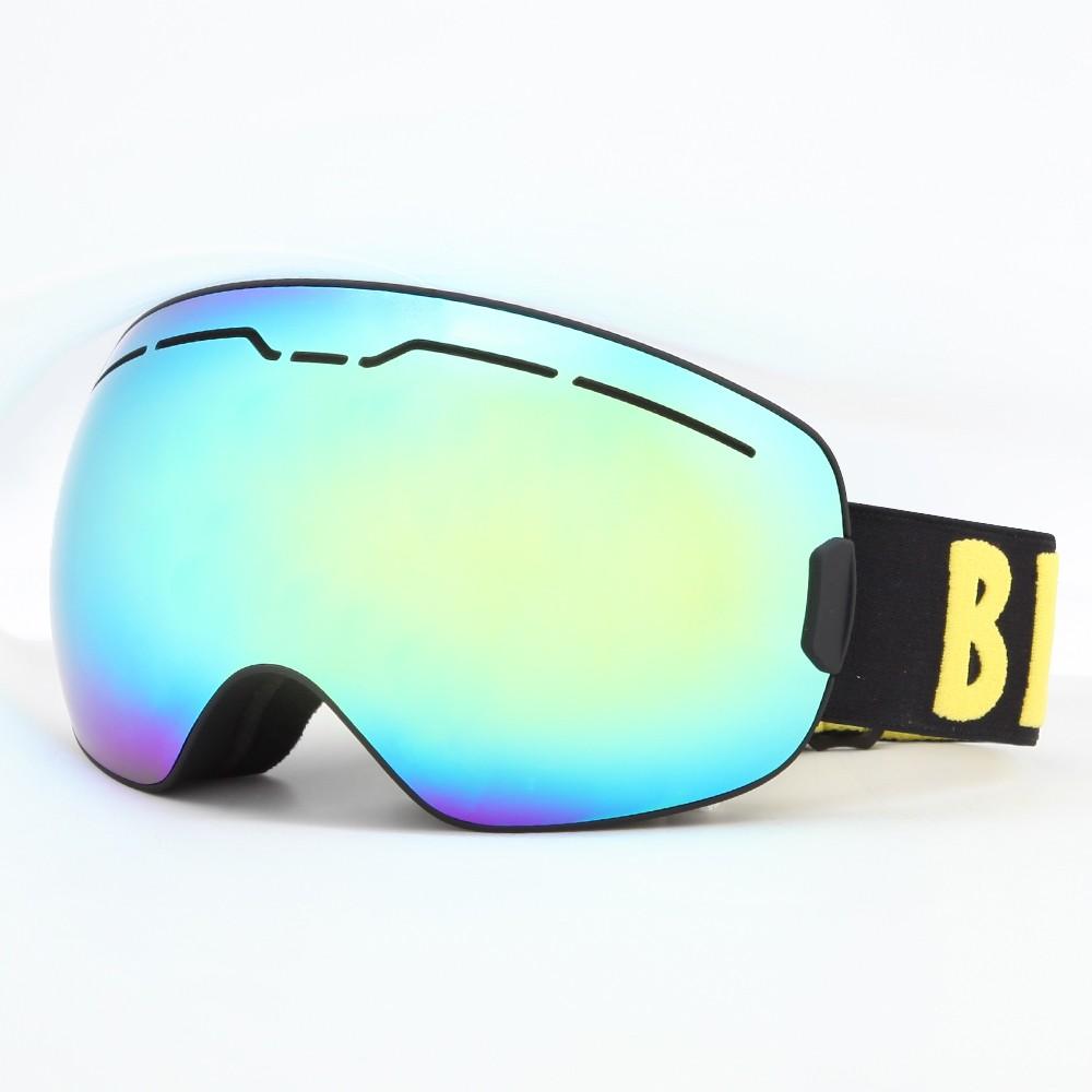 متعدد الألوان رغوة استبدال المغناطيس الإسفنج المغناطيس عدسة التبديل الفوري على الجليد نظارات SNOW-5252