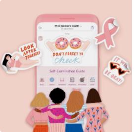 La OMS lanza un chatbot sobre la salud de la mujer con mensajes sobre el cáncer de mama