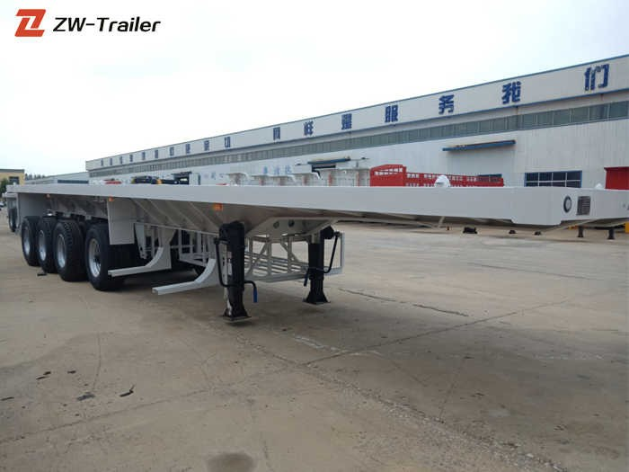 40 Ft 50 Ton Flatbed Container Semi Trailer