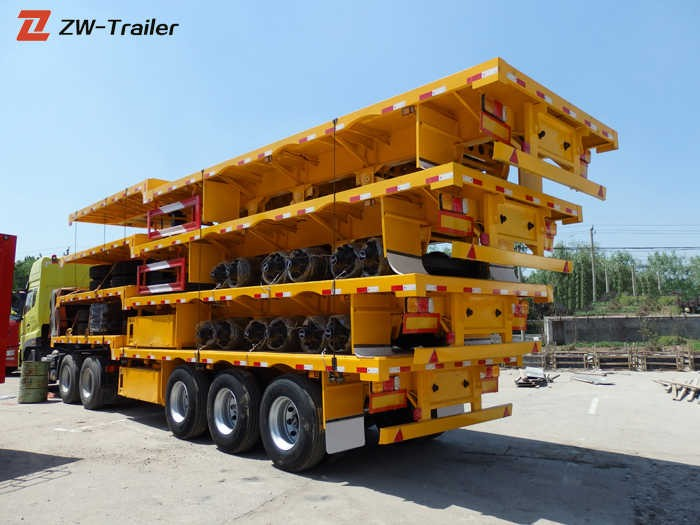 45 Ft Flatbed Truck Trailer Uk