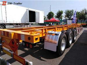 12m 20 Ft Skeletal Trailer Chassis