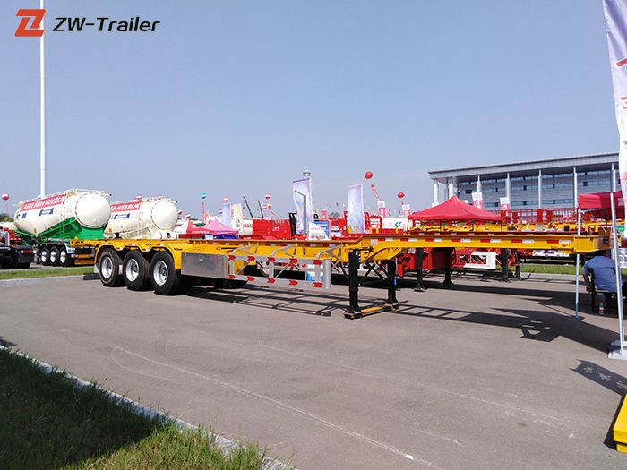 12m 20 Ft Skeletal Trailer Chassis Manufacturers, 12m 20 Ft Skeletal Trailer Chassis Factory, Supply 12m 20 Ft Skeletal Trailer Chassis