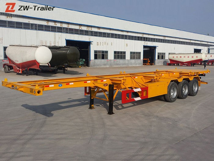 40ft Skel Shipping Container Transport Trailer