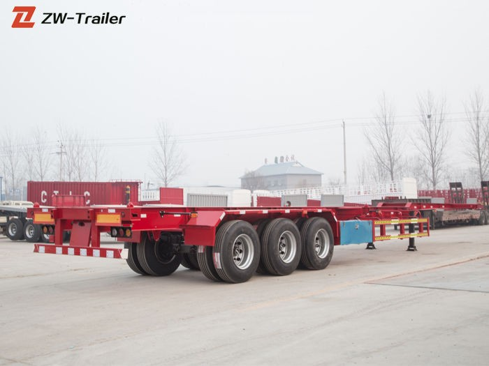 Trailer Skeletal Multi Fungsi 6m