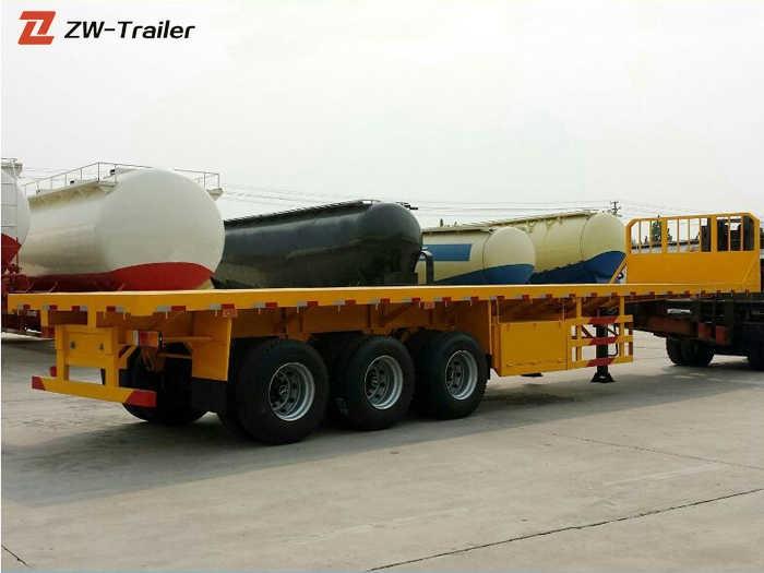 Three Axle 48 Ft 40 Ton Flatbed Semi Trailer Manufacturers, Three Axle 48 Ft 40 Ton Flatbed Semi Trailer Factory, Supply Three Axle 48 Ft 40 Ton Flatbed Semi Trailer