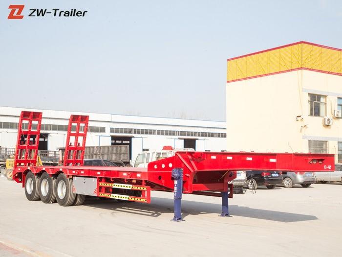 नई 60 टन लॉबॉय उपकरण ट्रेलरों