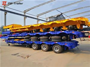 Low Loader Low Bed Lowbed Semi Trailer