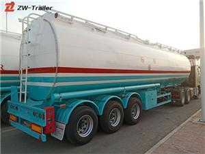 3 Axle 40cbm 50000 Liters Crude Oil Tanker Semi Trailer