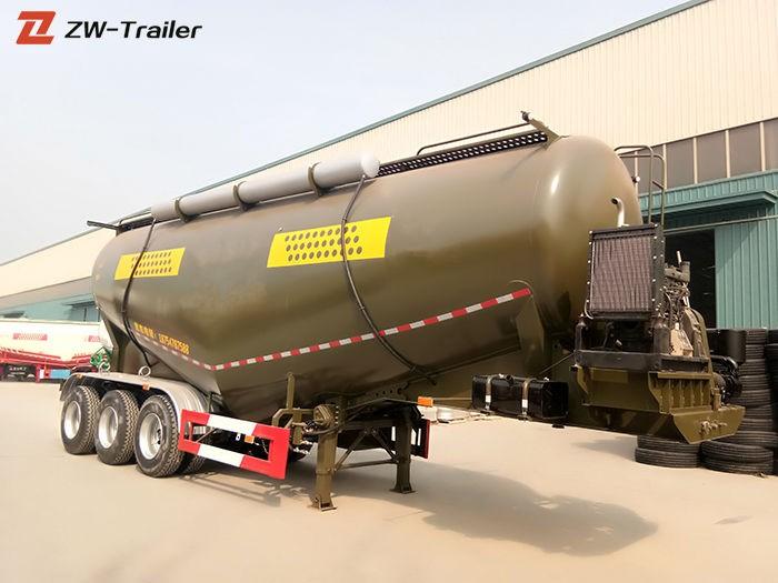 Trailer Tanker Pengangkut Semen Massal