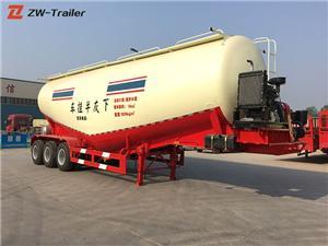 Pneumatic Bulk Cement Tanker Trailer