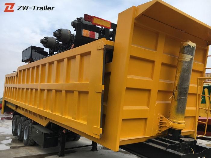 4 Axle Hydraulic End Tipper Trailer Manufacturers, 4 Axle Hydraulic End Tipper Trailer Factory, Supply 4 Axle Hydraulic End Tipper Trailer