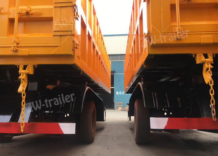 4 axle tipper trailer