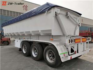 Trailer Tipping Dump 34 Ton Side Tipper