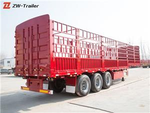 Animal Cattle Fence Cargo Transport Trailers