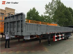 Sidewall Side Wall Drop Side Truck Trailer