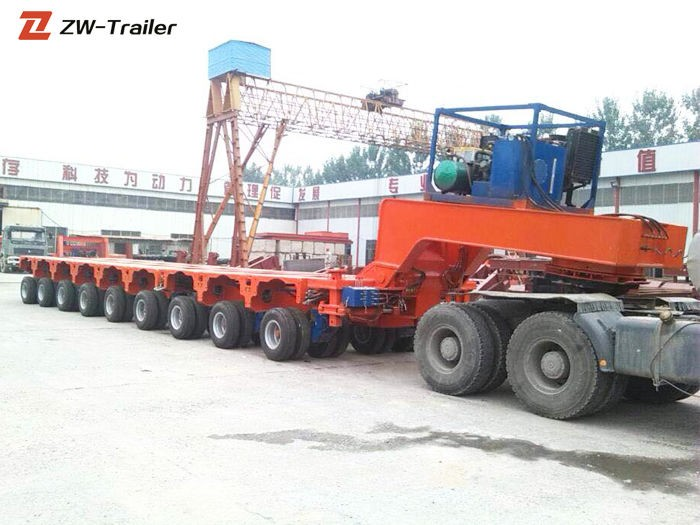 Remolque modular Heavy Haul Goldhofer