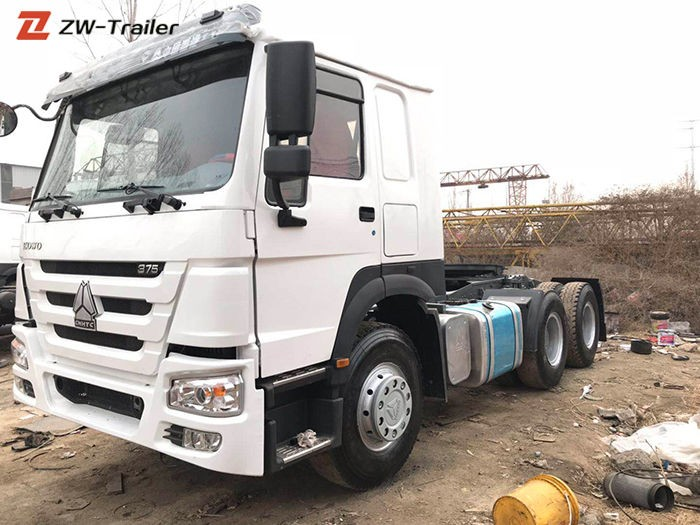 Second Hand Used Tractor Truck Units Sinotruk Howo