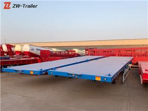 Used 45ft 53 Foot Flatbed Semi Trailers