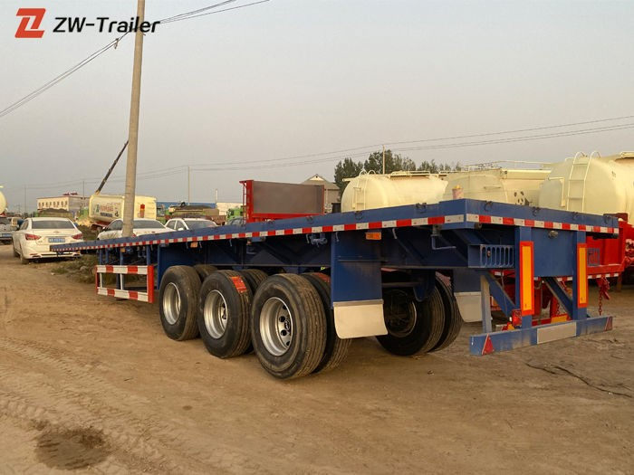 Used 45ft 53 Foot Flatbed Semi Trailers Manufacturers, Used 45ft 53 Foot Flatbed Semi Trailers Factory, Supply Used 45ft 53 Foot Flatbed Semi Trailers