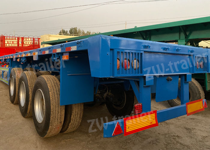used 45 ft flatbed trailers