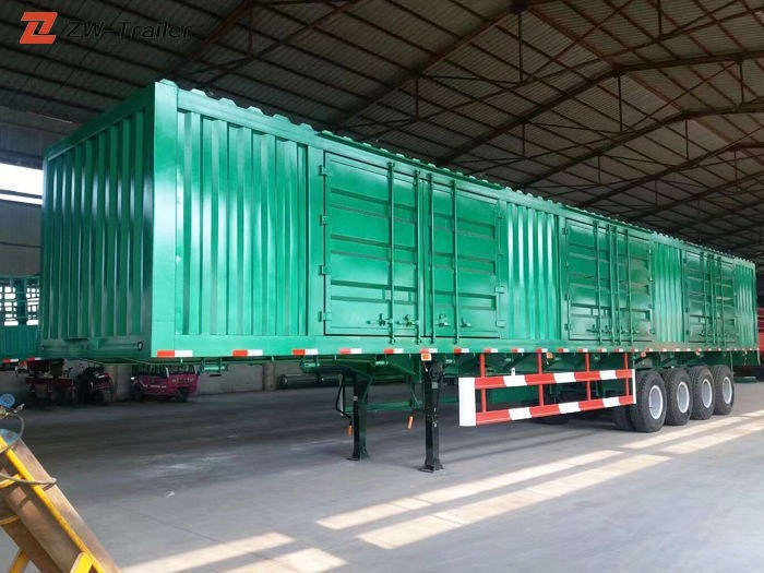 New Dry Van Box Bulk Cargo Trailer