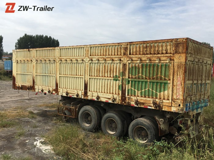 Second Hand Used 53 Foot Dry Van Box Trailer