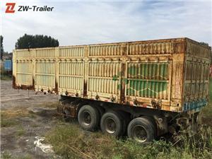 Bekas Treler Box Van Hand Dry 53 Foot Digunakan