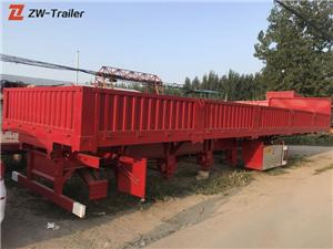 Used Steel Side Dump Semi Truck Trailers