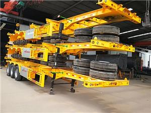 Trailer Semi Chassis Container 45ft Skeleton