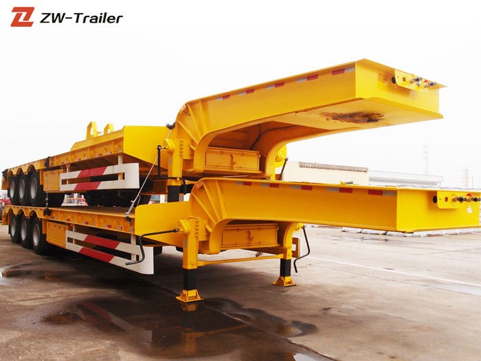 Low Flatbed Lowbed Semi Truck Trailer Manufacturers, Low Flatbed Lowbed Semi Truck Trailer Factory, Supply Low Flatbed Lowbed Semi Truck Trailer