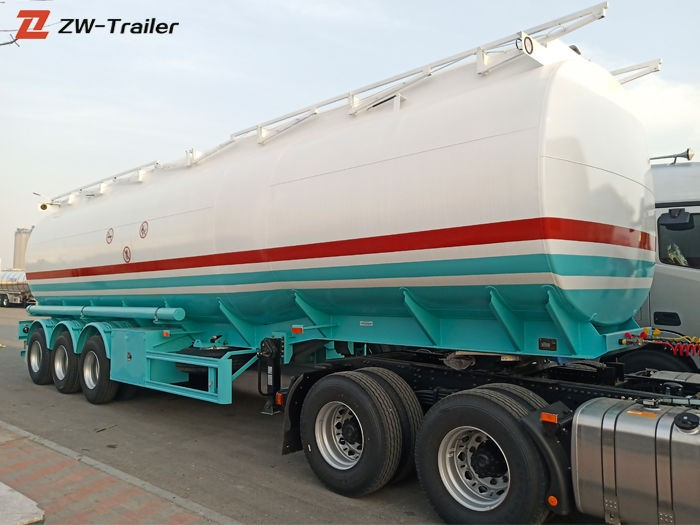 33000 Liters Fuel Transportation Tanker Truck Trailer