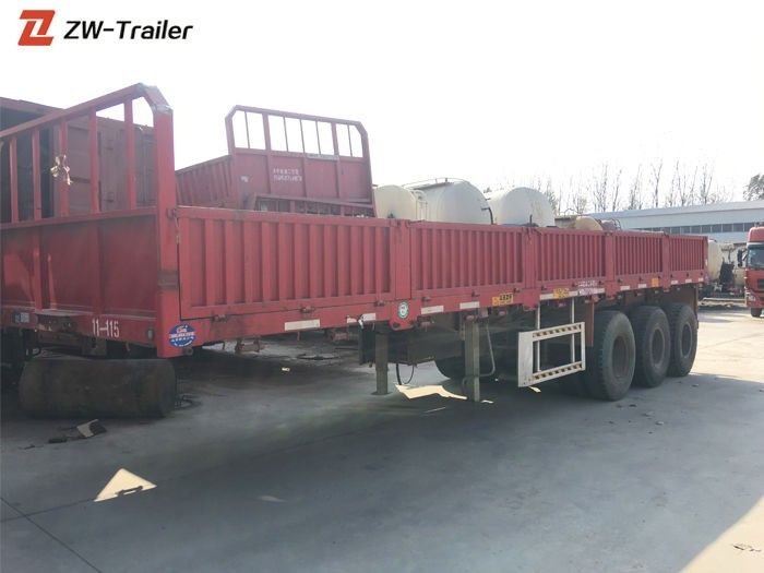 Used Side Wall Cargo Semi Trailer