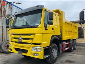 سینوٹرک ہوو ڈمپ ٹپر ٹرک استعمال کیا جاتا ہے