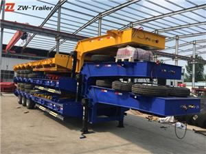 50 Ton Detachable Lowboy Trailer Dimensions
