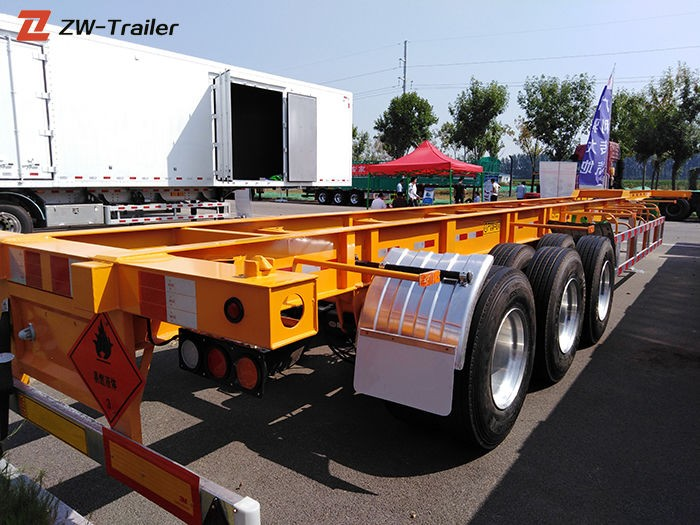 20ft Container Skeletal Trailer Manufacturers, 20ft Container Skeletal Trailer Factory, Supply 20ft Container Skeletal Trailer