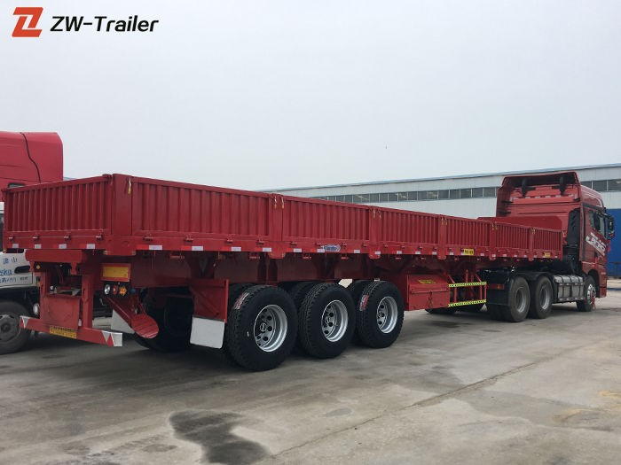 Tri Axle Side Tipper Tipping Trailer