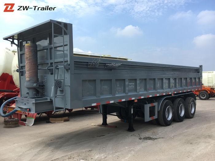 Coal Dump Tip Tipper Semi Trailer