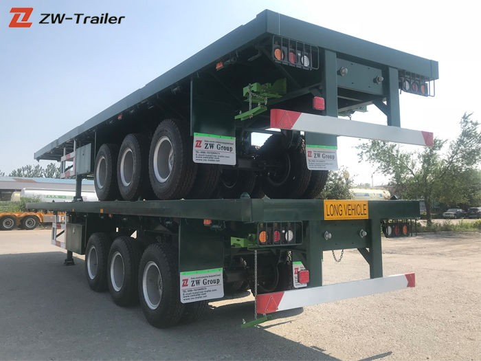 Commercial 48 Foot Flatbed Trailer