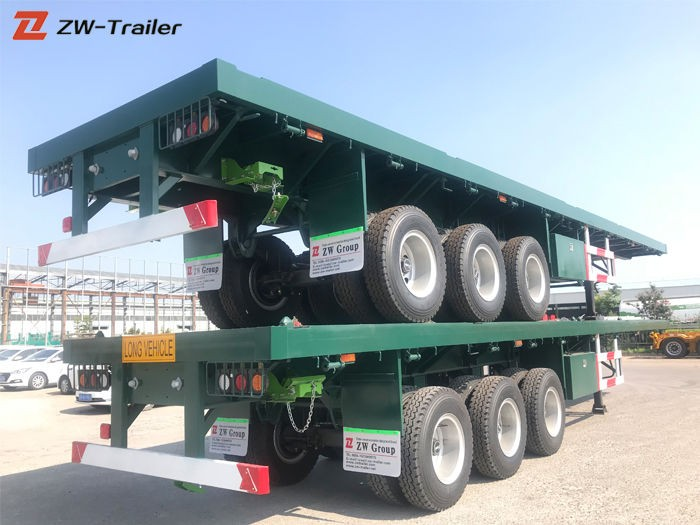 Commercial 48 Foot Flatbed Trailer Manufacturers, Commercial 48 Foot Flatbed Trailer Factory, Supply Commercial 48 Foot Flatbed Trailer