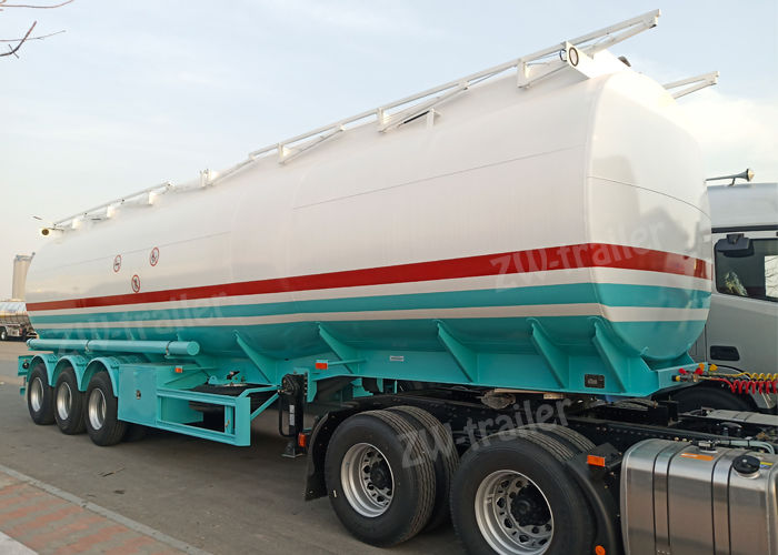 33000 litres fuel transportation tanker trailer