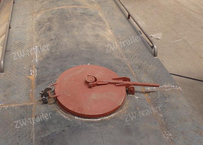 bulk cement tanker