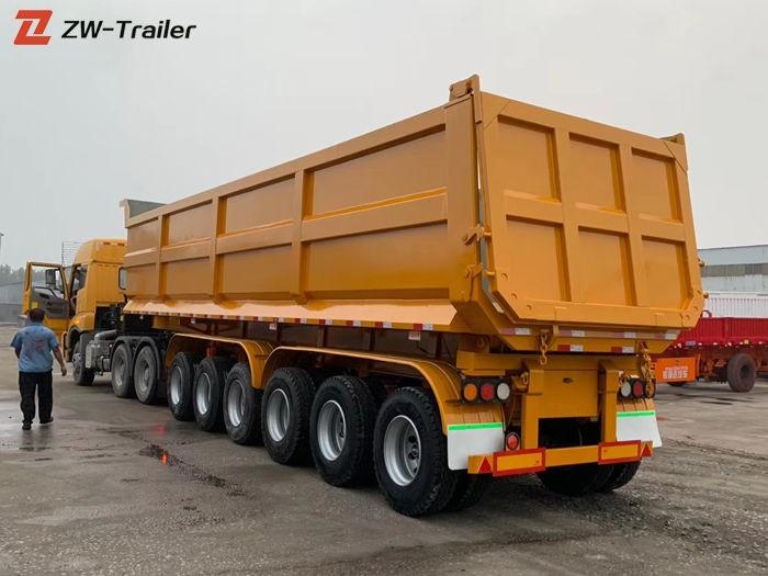 Heavy Duty Hydraulic Dump Truck Trailer